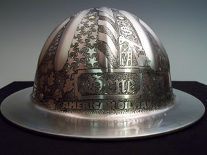 Hard Hat Engraved